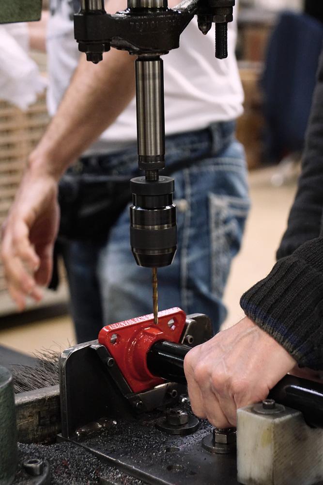 Jumbo fietspomp productie